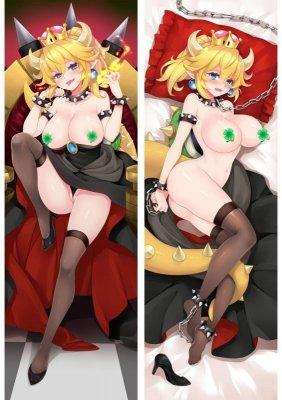 スーパーマリオ クッパ姫 エロ R18 抱き枕カバー dm18130-2